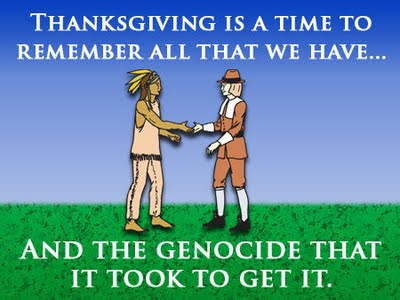 Thanksgiving is a time to be grateful...or something.