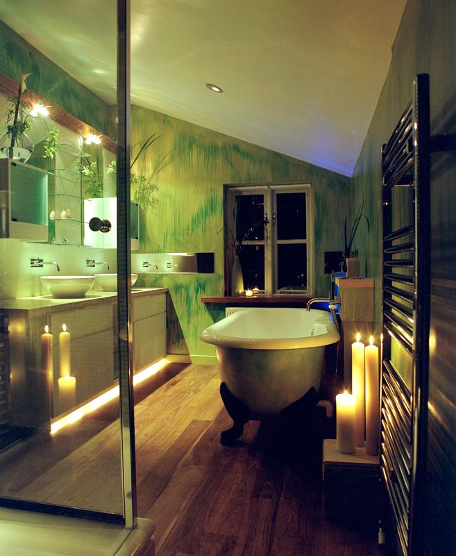 Rogue designs interior designer oxford interior for Victorian terrace bathroom ideas