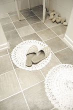 Stengolvet i badrummet