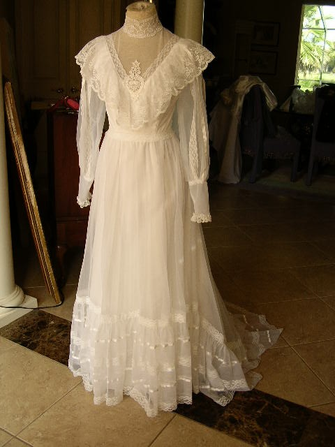 Artitudes my victorian vintage wedding dress was featured for Antique rose wedding dress