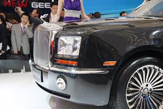 Киатйский Rolls-Royce - Geely GE