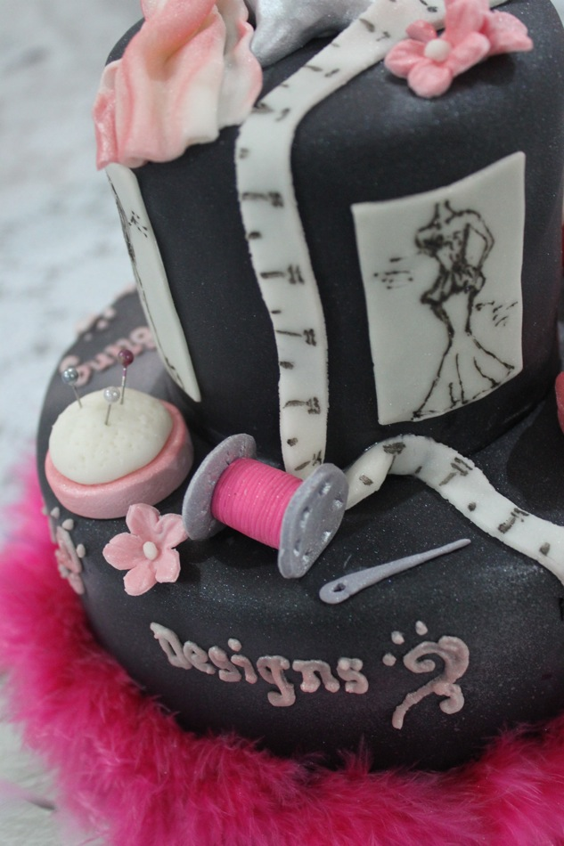 fashion designer cake