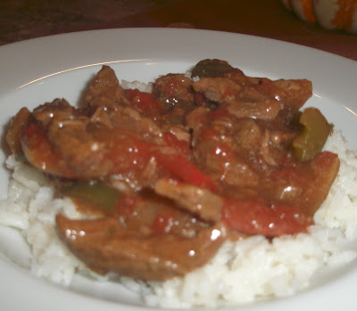 Marin's Creations: Slow Cooker Pepper Steak