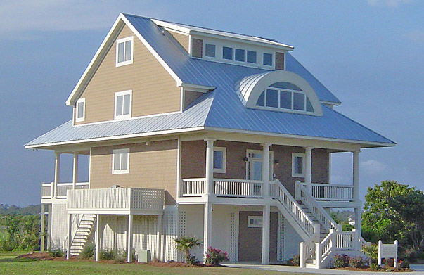 waterfront house plans - Waterfront House Plans