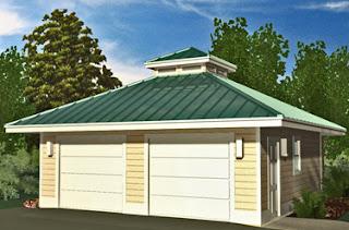 Donn Southern Living Garage Plans 8x10x12x14x16x18x20x22x24