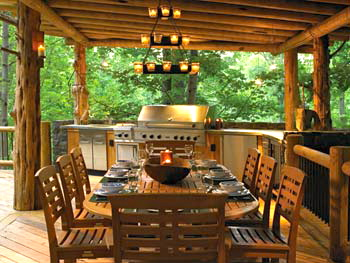 SOUTHERN COTTAGES HOUSE PLANS: Top 5 Outdoor Kitchens