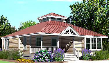 Southern Cottages House Plans Hip Cottage
