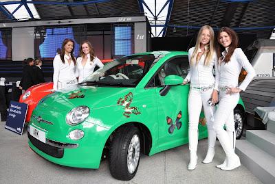 Veloce publishing automotive stuff damien hirst decorated fiat 500 damien hirst decorated fiat 500 fandeluxe Choice Image