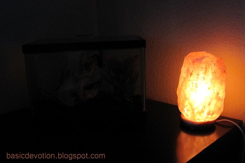 Basic Devotion: Himalayan Salt Rock Lamps