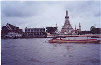 Wat arun seen from the river