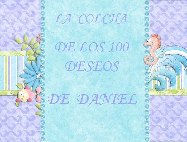 colcha 100 deseos DANIEL