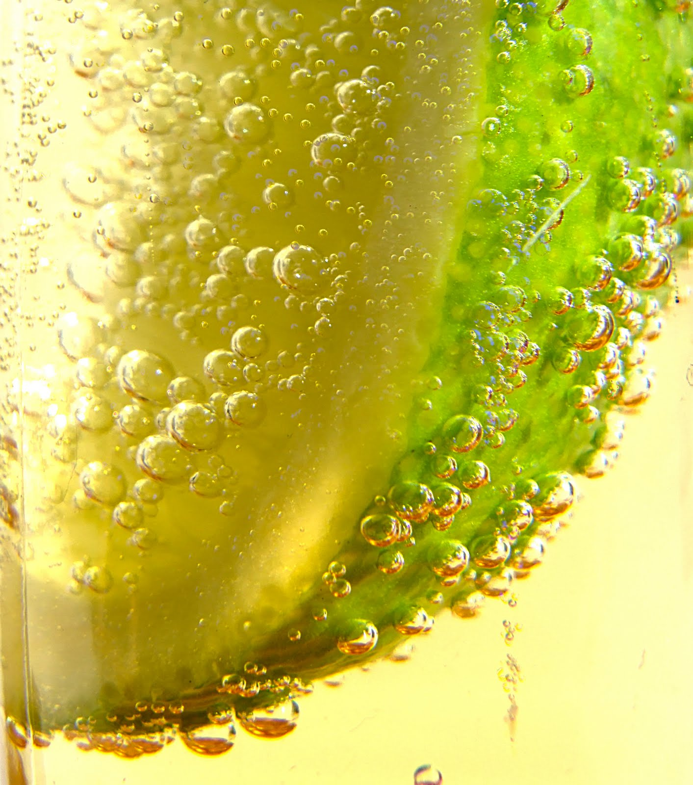 ... Piece of Cake.: Sweet and Sour Vanilla Lime Spritzers (Advanced Plan