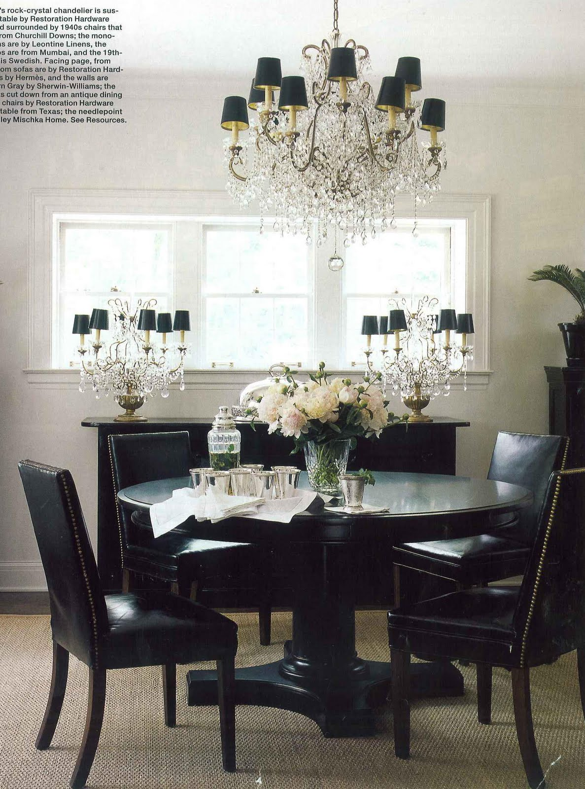 Remarkable Black and White Dining Room 1187 x 1600 · 352 kB · jpeg