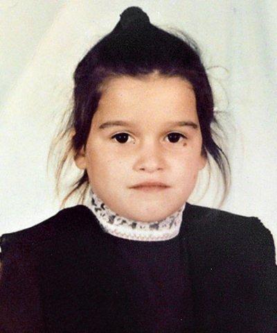 Фото Ксения Бородина в детстве