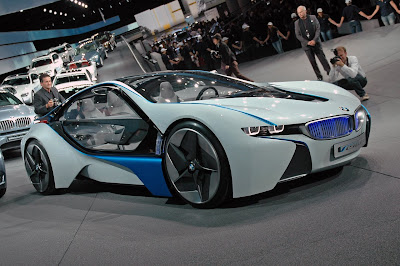 The BMW Vision EFFICIENTDYNAMICS Concept | Electric Vehicle News