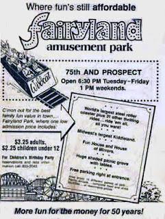 flyer for an amusement park