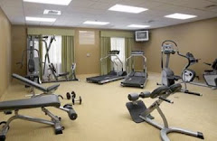 Exercise Room at the Hilton