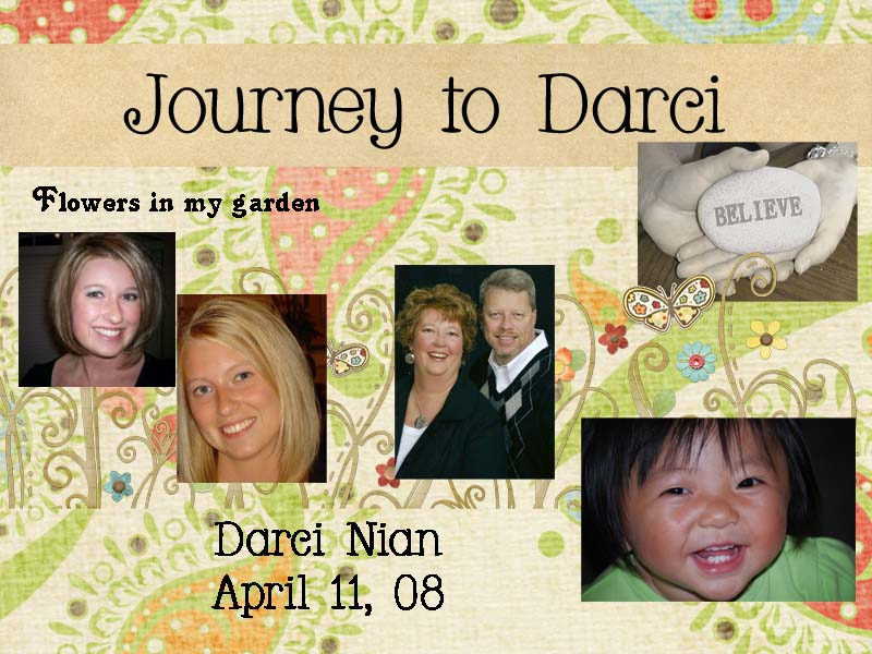Our Journey to Darci