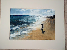 Kicking Stones, Southwold Beach