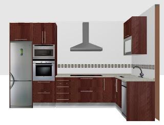 Cocinas integrales cocinas integrales modernas modelos Modelos de cocinas modernas americanas