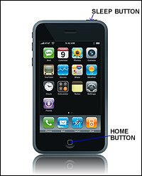 Apple iPhone Home & Sleep butonu