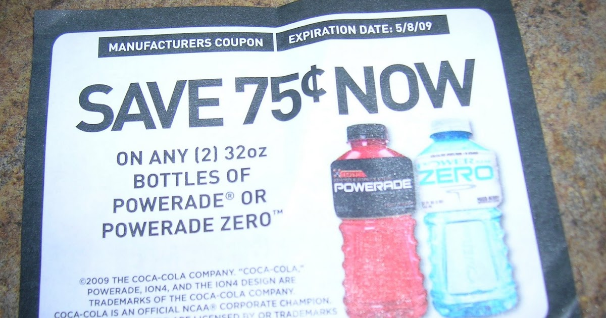 Powerade expiration date
