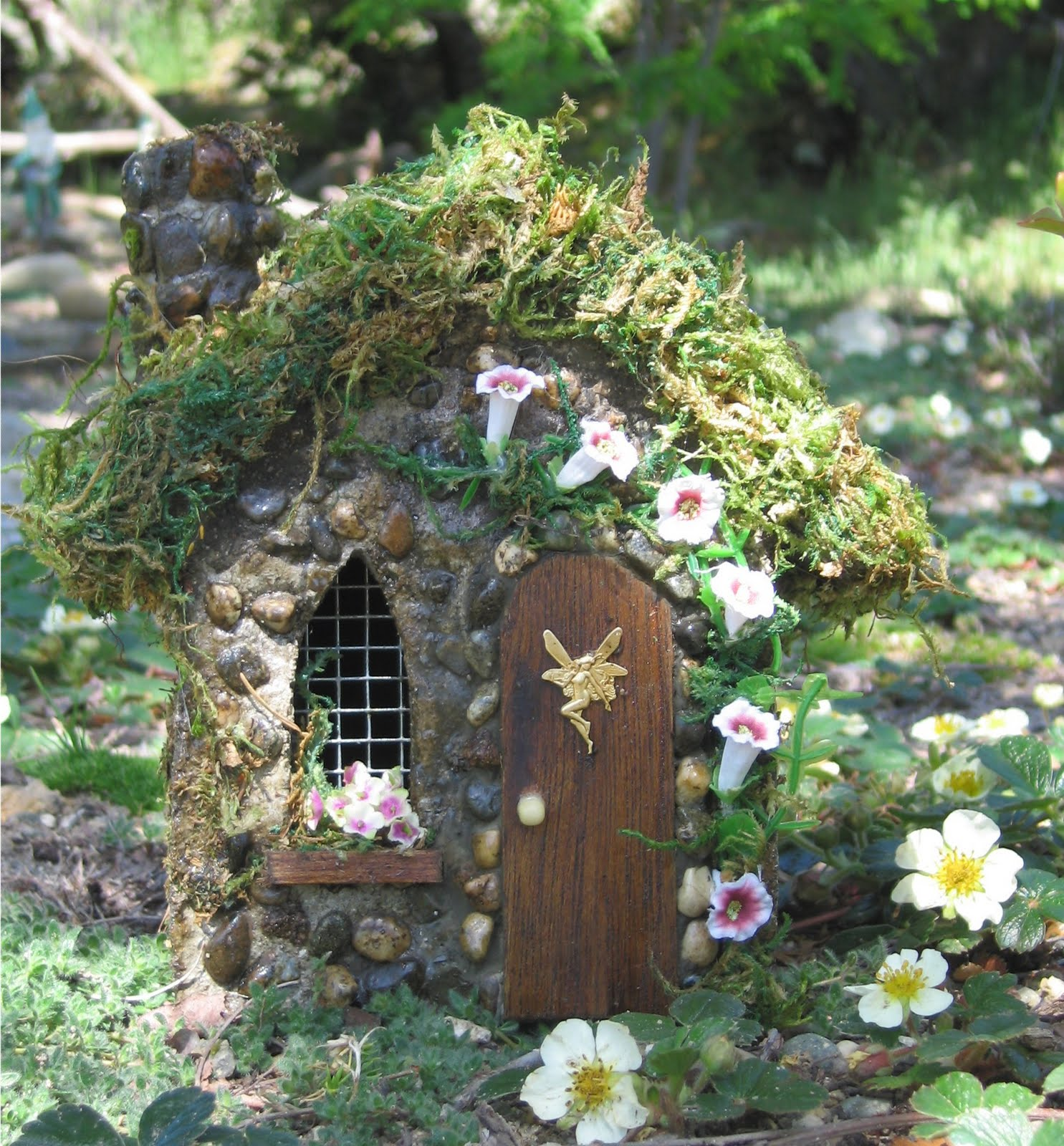 club fe rico fairy club casas de hadas fairy houses. Black Bedroom Furniture Sets. Home Design Ideas