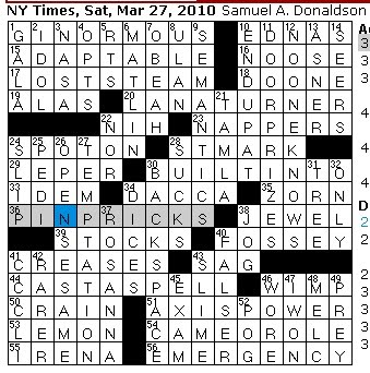 Saturday March 27 2010  sc 1 st  Rex Parker - blogger & Rex Parker Does the NYT Crossword Puzzle: March 2010 25forcollege.com