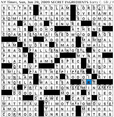 Rex Parker Does The Nyt Crossword Puzzle Sunday Jun 28 2009 Locale For Apfelstrudel And Sachertorte Tulip Exporting City Tiny Friend Dumbo Cesar Five Time Gold Glove Winner 1972 76