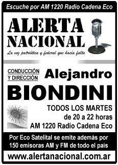 RADIO - ALERTA NACIONAL -