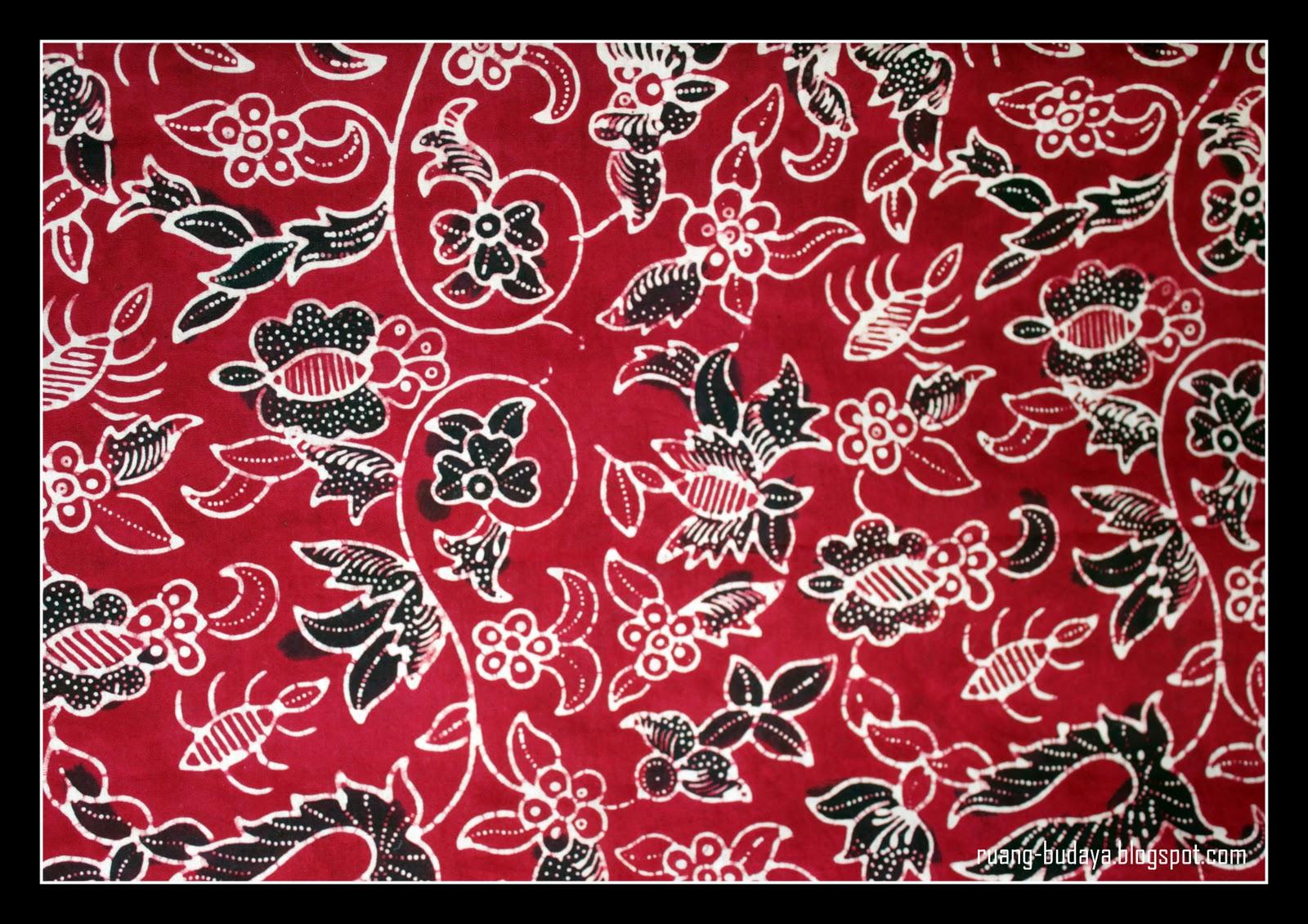 culture visual archives batik tegal