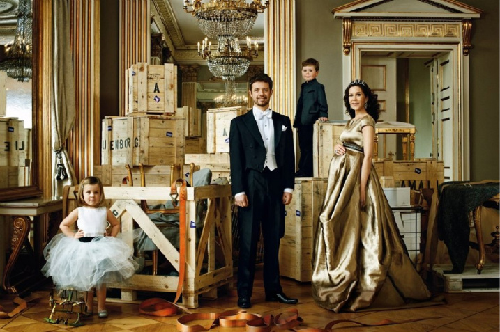 Nellys delhi the royal family of denmark in vogue i forgot to show you these pictures of the crown princess of denmark and her family in german vogue read the article here if you want to know more about sciox Image collections