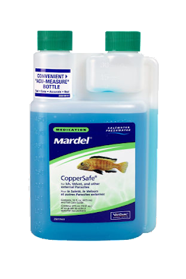 CopperSafe From Mardel Labs- Fish Medication For Ich, Velvet and Other External Parasites