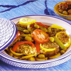 moroccan fish tagine tajine au poissson maroc