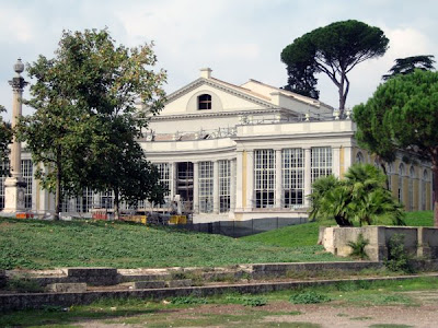 Teatro at Villa Torlonia after