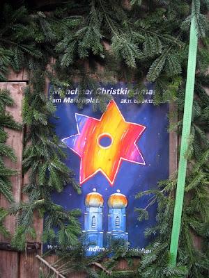 Munich Christmas Fair Poster
