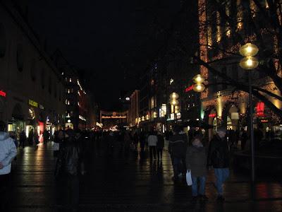 Entrance to the Marienplatz Market