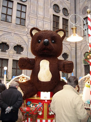 A giant Teddy