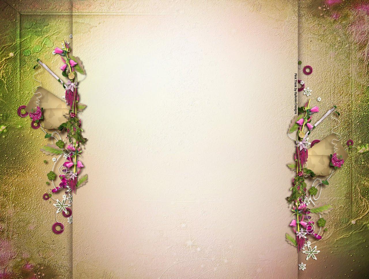 Fondo y cabecera para blog del kit PinkThink de Rakusia Designs y ...