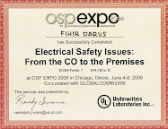 OSP Safety Issues, Chicago 2008