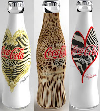 Designer Coke Bottles - DO NOT recycle!!