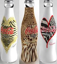 Designer Coke Bottles - DO NOT recycle!!