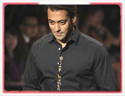 Salman Khan in Wills India Fashion Week