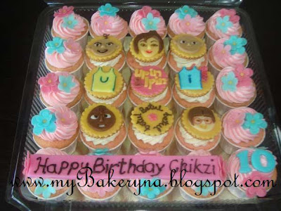 Upin & Ipin and Cars Theme Cupcakes
