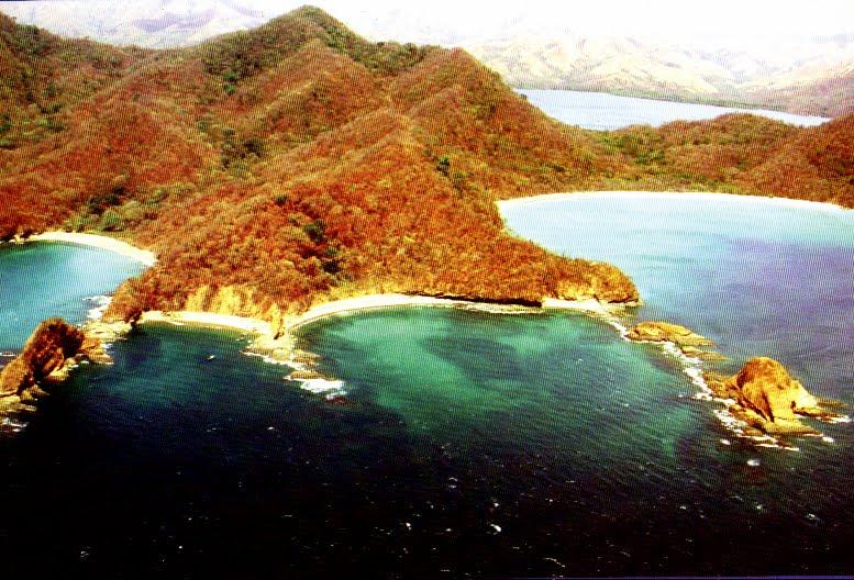 Vista de la Isla Murciélago, Costa Rica