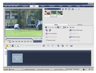 Cara mengedit video dengan Ulead Video studio | Majalengka ...