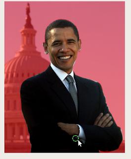 barrack obama upgrade by GIMP