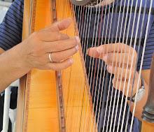 Harpist David Ogalde