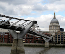 The Millennium Pedestrian Bridge and St. Pauls Cathedral