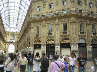 Galeria Vittorio Emanuele - Milão
